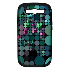 Color Party 03 Samsung Galaxy S Iii Hardshell Case (pc+silicone) by MoreColorsinLife