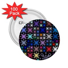 Color Party 01 2 25  Buttons (100 Pack)  by MoreColorsinLife