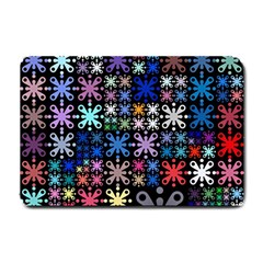 Color Party 01 Small Doormat  by MoreColorsinLife