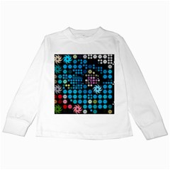 Color Party 02 Kids Long Sleeve T Shirts by MoreColorsinLife
