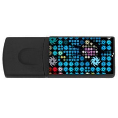 Color Party 02 Usb Flash Drive Rectangular (4 Gb) by MoreColorsinLife