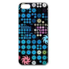 Color Party 02 Apple Seamless Iphone 5 Case (clear) by MoreColorsinLife