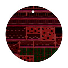 Blaster Master Round Ornament (two Sides)