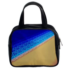 Beach Sea Water Waves Sand Classic Handbags (2 Sides) by Alisyart