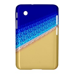 Beach Sea Water Waves Sand Samsung Galaxy Tab 2 (7 ) P3100 Hardshell Case  by Alisyart