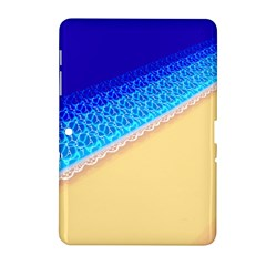 Beach Sea Water Waves Sand Samsung Galaxy Tab 2 (10 1 ) P5100 Hardshell Case  by Alisyart