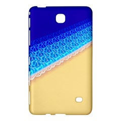 Beach Sea Water Waves Sand Samsung Galaxy Tab 4 (7 ) Hardshell Case  by Alisyart
