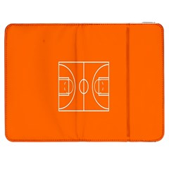 Basketball Court Orange Sport Orange Line Samsung Galaxy Tab 7  P1000 Flip Case