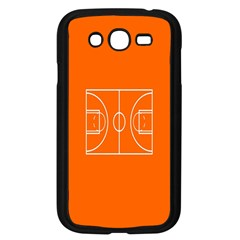 Basketball Court Orange Sport Orange Line Samsung Galaxy Grand Duos I9082 Case (black)