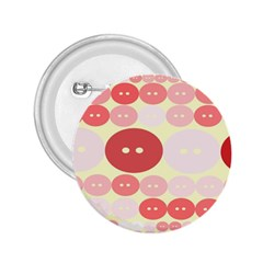 Buttons Pink Red Circle Scrapboo 2 25  Buttons