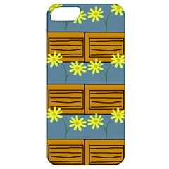 Yellow Flower Floral Sunflower Apple Iphone 5 Classic Hardshell Case by Alisyart