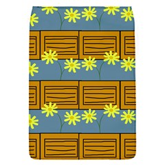 Yellow Flower Floral Sunflower Flap Covers (s)