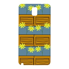 Yellow Flower Floral Sunflower Samsung Galaxy Note 3 N9005 Hardshell Back Case