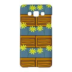 Yellow Flower Floral Sunflower Samsung Galaxy A5 Hardshell Case