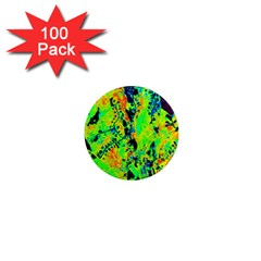 Bow Canopy Height Satelite Map 1  Mini Magnets (100 Pack)