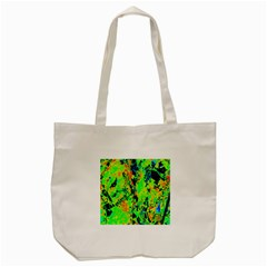 Bow Canopy Height Satelite Map Tote Bag (cream) by Alisyart