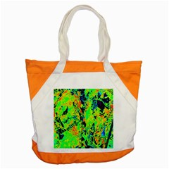 Bow Canopy Height Satelite Map Accent Tote Bag by Alisyart