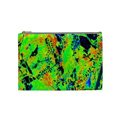 Bow Canopy Height Satelite Map Cosmetic Bag (medium)  by Alisyart