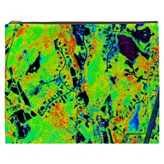 Bow Canopy Height Satelite Map Cosmetic Bag (xxxl)