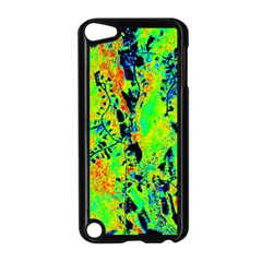 Bow Canopy Height Satelite Map Apple Ipod Touch 5 Case (black) by Alisyart