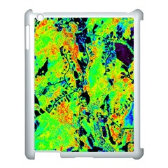 Bow Canopy Height Satelite Map Apple Ipad 3/4 Case (white)