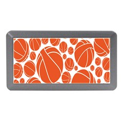 Basketball Ball Orange Sport Memory Card Reader (mini) by Alisyart