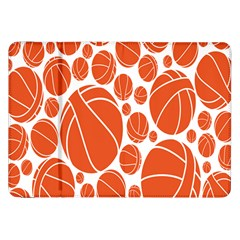 Basketball Ball Orange Sport Samsung Galaxy Tab 8 9  P7300 Flip Case by Alisyart