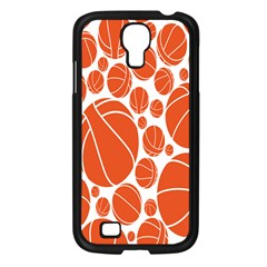 Basketball Ball Orange Sport Samsung Galaxy S4 I9500/ I9505 Case (black) by Alisyart