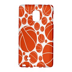 Basketball Ball Orange Sport Galaxy Note Edge by Alisyart
