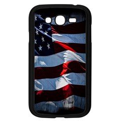 Grunge American Flag Background Samsung Galaxy Grand Duos I9082 Case (black) by Simbadda