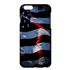 Grunge American Flag Background Apple Iphone 6 Plus/6s Plus Hardshell Case by Simbadda