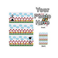 Ladybugs And Flowers Playing Cards 54 (mini)