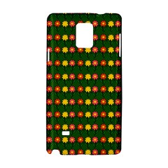 Flowers Samsung Galaxy Note 4 Hardshell Case by Valentinaart