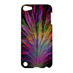 Fractal In Many Different Colours Apple Ipod Touch 5 Hardshell Case by Simbadda