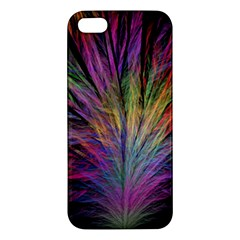 Fractal In Many Different Colours Apple Iphone 5 Premium Hardshell Case