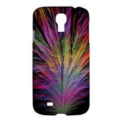 Fractal In Many Different Colours Samsung Galaxy S4 I9500/i9505 Hardshell Case by Simbadda