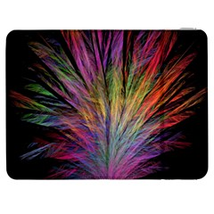 Fractal In Many Different Colours Samsung Galaxy Tab 7  P1000 Flip Case by Simbadda