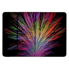 Fractal In Many Different Colours Samsung Galaxy Tab 8 9  P7300 Flip Case by Simbadda