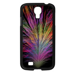 Fractal In Many Different Colours Samsung Galaxy S4 I9500/ I9505 Case (black) by Simbadda