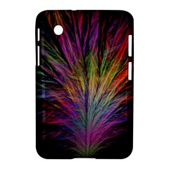 Fractal In Many Different Colours Samsung Galaxy Tab 2 (7 ) P3100 Hardshell Case