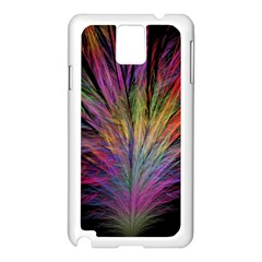 Fractal In Many Different Colours Samsung Galaxy Note 3 N9005 Case (white) by Simbadda