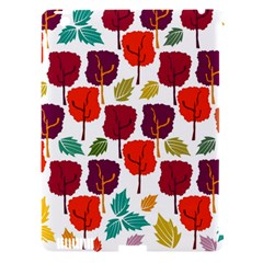 Colorful Trees Background Pattern Apple Ipad 3/4 Hardshell Case (compatible With Smart Cover) by Simbadda