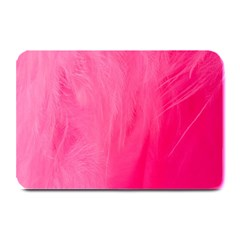 Very Pink Feather Plate Mats by Simbadda