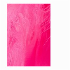 Very Pink Feather Small Garden Flag (two Sides) by Simbadda