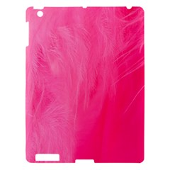 Very Pink Feather Apple Ipad 3/4 Hardshell Case by Simbadda