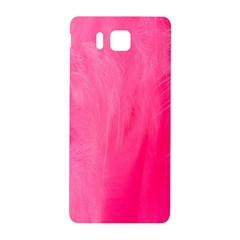 Very Pink Feather Samsung Galaxy Alpha Hardshell Back Case by Simbadda