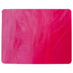 Very Pink Feather Jigsaw Puzzle Photo Stand (rectangular) by Simbadda