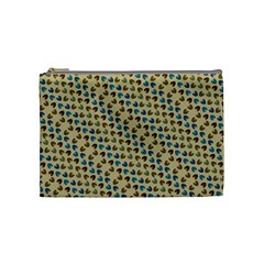 Abstract Seamless Pattern Cosmetic Bag (medium)  by Simbadda