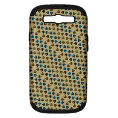 Abstract Seamless Pattern Samsung Galaxy S Iii Hardshell Case (pc+silicone) by Simbadda