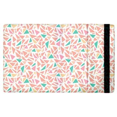 Geometric Abstract Triangles Background Apple Ipad 2 Flip Case